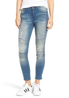 True Religion Halle Super Skinny Moto Jeans (Blue City)