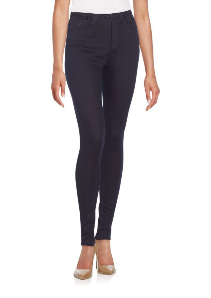 Joan Smalls x True Religion Super Skinny High-Rise Denim Leggings