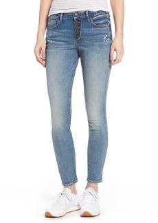 True Religion Jennie Curvy Ankle Jeans (Ojai Fields)