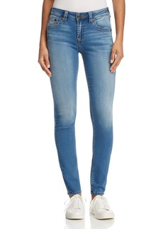 True Religion Jennie Curvy Skinny Jeans in Authentic Indigo
