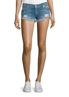 True Religion Joey Cutoff Denim Shorts