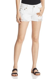 True Religion Keira Cutoff Denim Shorts