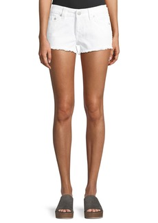 True Religion Keira Fray Denim Shorts