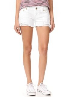 True Religion Keira Low Rise Cutoff Shorts