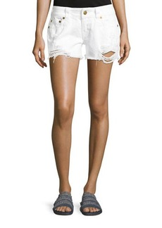 True Religion Keira Low-Rise Cutoff Shorts