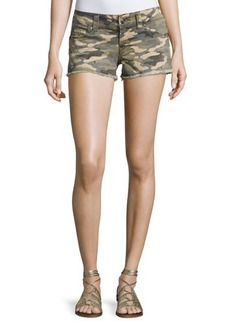 True Religion Kiera Low-Rise Cutoff Shorts