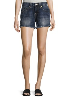 True Religion Kori Cutoff Boyfriend Shorts