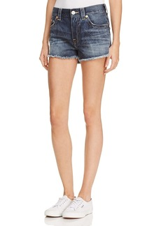 True Religion Kori High Rise Boyfriend Jeans in Oceana Blue