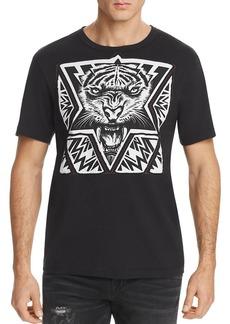 True Religion Laser Cut Tiger Tee