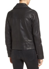 True Religion Leather Moto Jacket