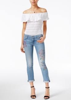 True Religion Liv Cuffed Boyfriend Jeans