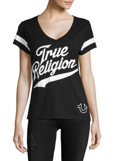 True Religion Logo Cotton Tee