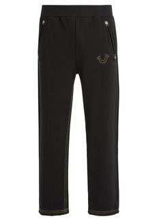 True Religion Logo-embroidered track pants