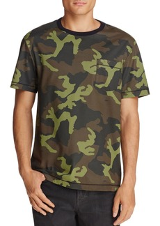 True Religion Loose Fit Camouflage Pocket Tee