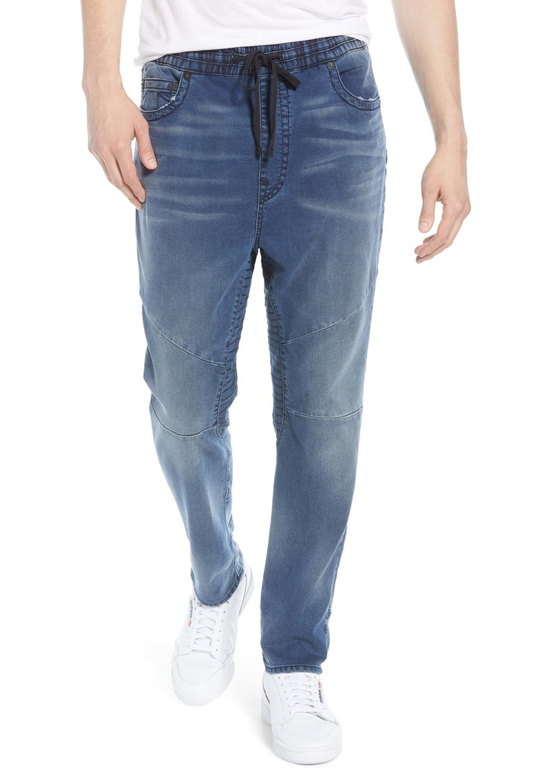 True Religion Marco Runner Relaxed Jogger Jeans (Bright Reflection)