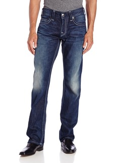 True Religion Men's Bobby Straight Fit Bluestone Big QT Jean in