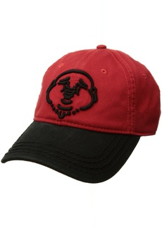 True Religion Men's Buddha Core Baseball Cap True red OSFA