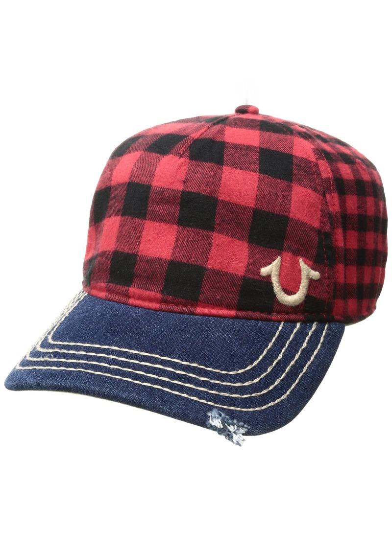 01db84c41d2 True Religion True Religion Men s Buffalo Check Cap
