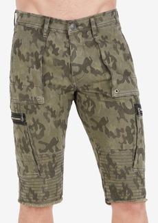 True Religion Men's Camo Cargo Shorts