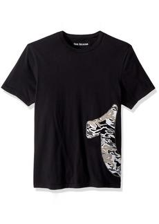 True Religion Men's Camo Horseshoe Tee  XL