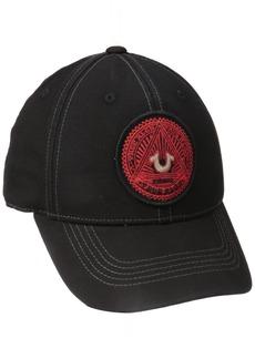 True Religion Men's Canvas Pigment Ball Cap