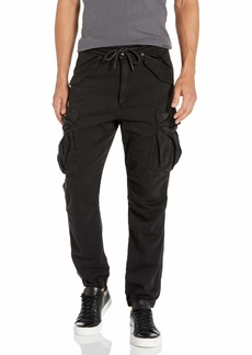 True Religion Men's Cargo Relaxed Fit Jogger Sweatpant