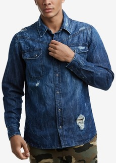 True Religion Mens Carter Western Shirt