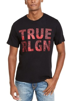 True Religion Men's Chain Logo Crewneck Tee