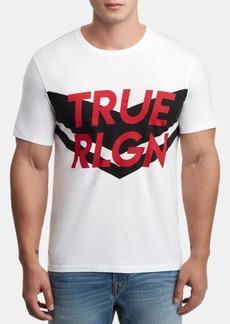 True Religion Men's Chevron Logo Graphic T-Shirt