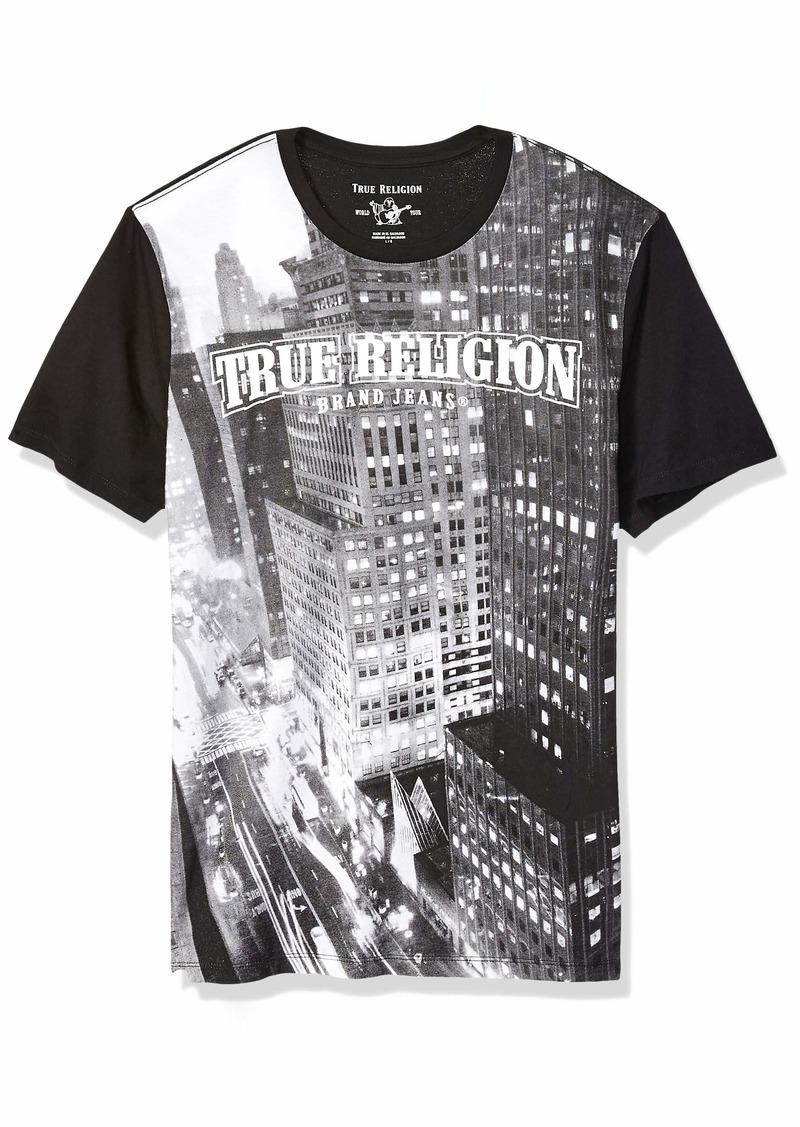 True Religion Men's City View Crew Neck TEE  S