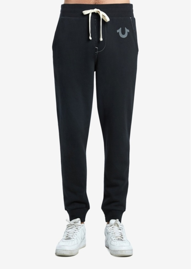 True Religion Men's Classic Logo Jogger Sweatpant