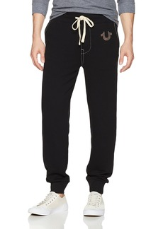 True Religion Men's Classic Logo Jogger Sweatpant  XL