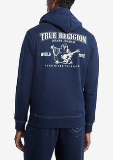 True Religion Men's Classic Logo Zip-Up Hoodie