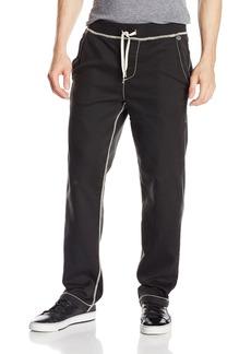 True Religion Men's Wide Leg Big T Stitch Sweatpants