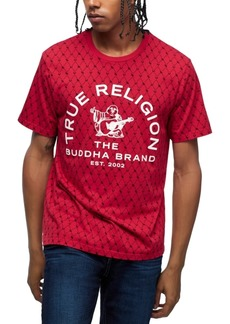 True Religion Men's Cotton Logo Graphic T-Shirt