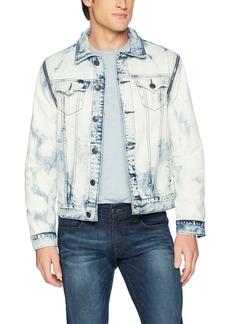 True Religion Men's Danny Convertible Denim Jacket  L