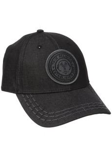 True Religion Men's Denim Ball Cap With Patch