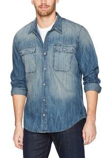 True Religion Men's Denim Workwear Shirt  L