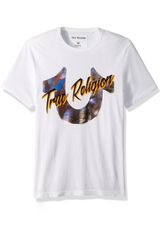 True Religion Men's Dessert Horseshoe Tee  S