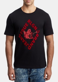 True Religion Men's Diamond Buddha Graphic T-Shirt