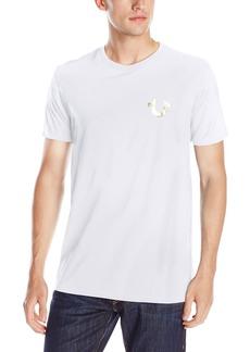 True Religion Men's Double Puff Short Sleeve T-Shirt