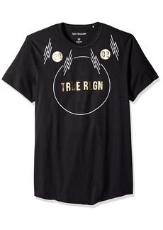 True Religion Men's Embroidered True Tee  XL