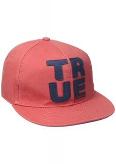True Religion Men's Felt Applique Baseball Cap