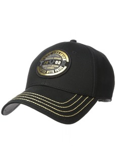 True Religion Men's Foil & Flock Baseball Cap  OSFA