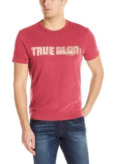 True Religion Men's Football Vintage Tee  XXX-Large