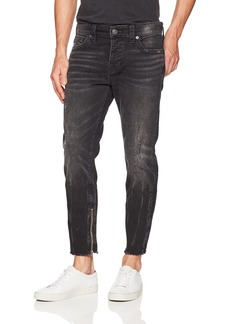 True Religion Men's Frayed Fin Skinny Jean