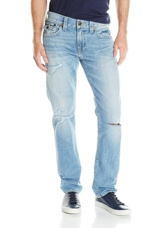 True Religion Men's Geno Flap Pocket Old School Relaxed Slim Jean Down