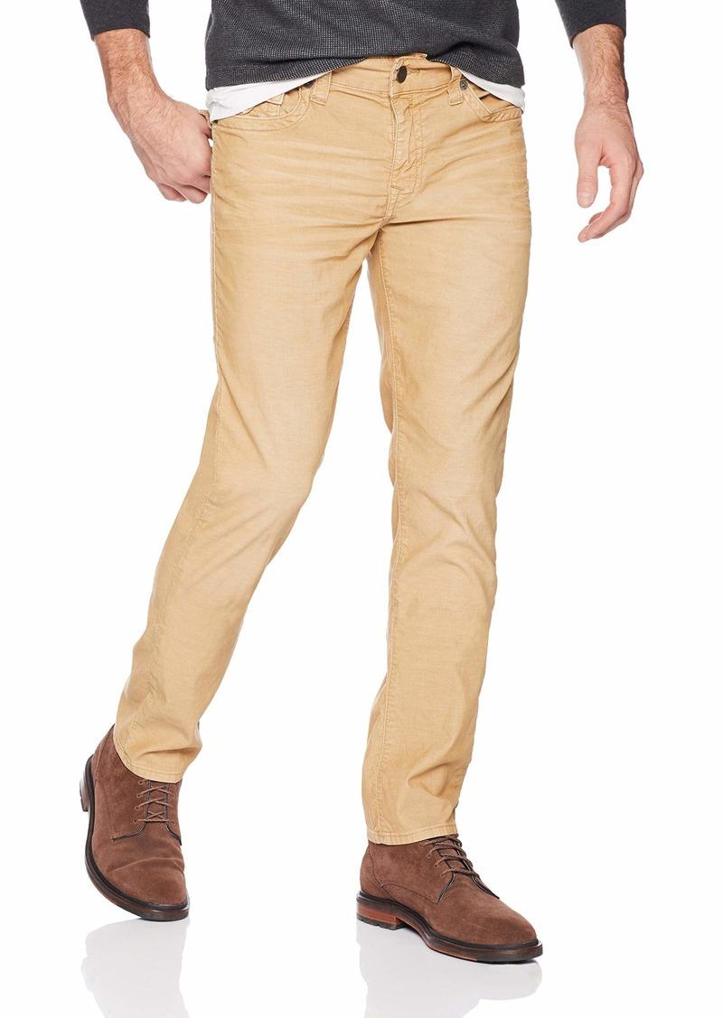True Religion Men's Geno Slim Straight Corduroy Pant