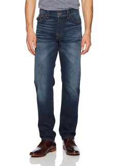 True Religion Men's Geno Slim Straight Jeans and Back Flap Pockets