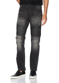 True Religion Men's Geno Slim Straight Race Biker Jean